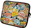 ©art&cherry Designer Laptoptasche Notebooktasche in 14 Zoll auch in 10 Zoll / 13 Zoll / 15 Zoll / 17 Zoll erhältlich Sleeve Neopren Schutzhülle Netbook Tablet Cover Hülle Ipad 077