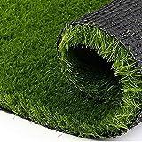 "Kuber Industries Grass Door Mat - 24""x15"", Green"
