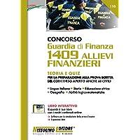 Concorso Guardia di Finanza 1409 Allievi Finanzieri - Teoria e Quiz
