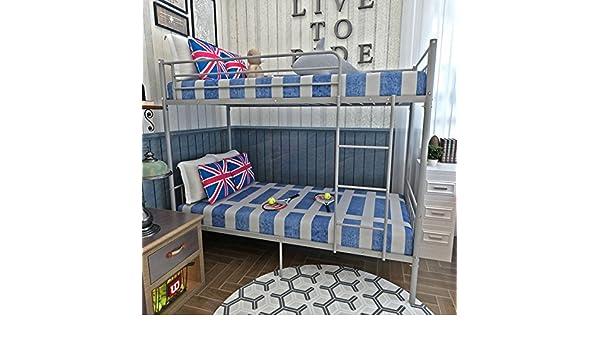 Etagenbett Für Erwachsene Metall Gebraucht : Keinode etagenbett cm metall stahlrohr modernes