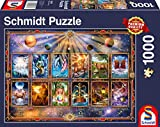 Schmidt Spiele 58347 - Puzzle da 1000 pezzi, motivo: segno zodiacale, multicolore