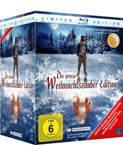 Die große Weihnachtszauber Edition - inkl. Wunder einer Winternacht (10 Filme Limited Edition) (Blu-ray)