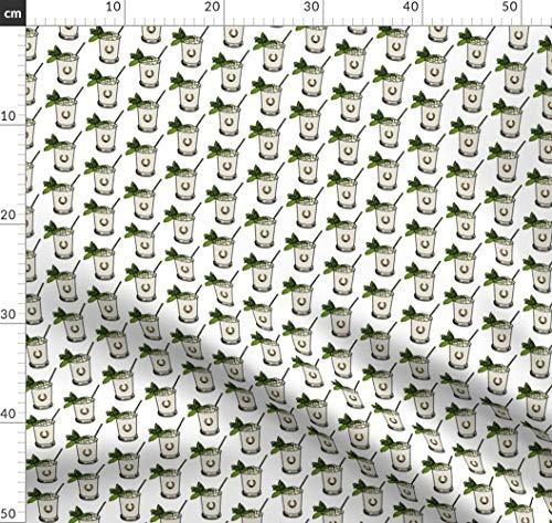 Spandex-rennen (Pony, Pferd, Reiten, Rennen, Derby, Party Stoffe - Individuell Bedruckt von Spoonflower - Design von Ragan Gedruckt auf Baumwoll Spandex Jersey)