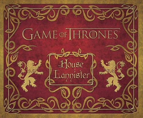 GAME OF THRONES: HOUSE LANNISTER DELUXE STATIONERY SET (Insights Deluxe Stationery Sets) por HBO