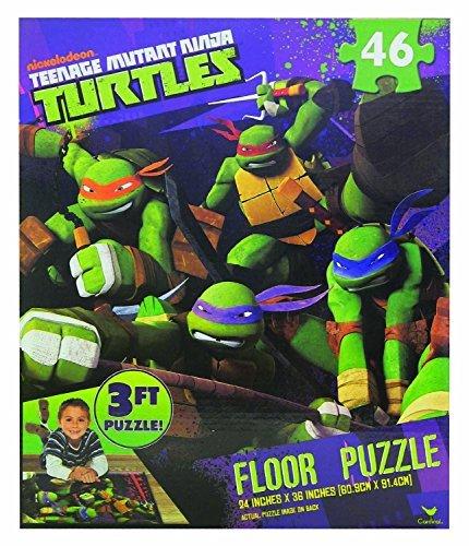 Teenage Mutant Ninja Turtles Floor Puzzle