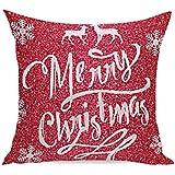 Joyeux Noël ! Reaso Avant Doux Série de Noël Canapé-lit Décoration intérieure Section Coussin (A)