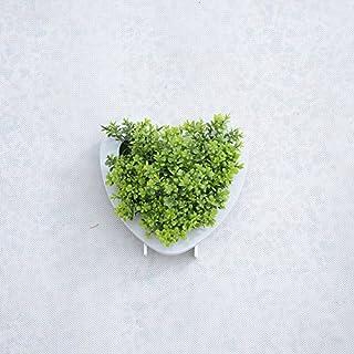 7D Heart Shaped Design Künstliche Sukkulenten Arrangement für Home Décor und Party Zeitgenössische Dekorationen