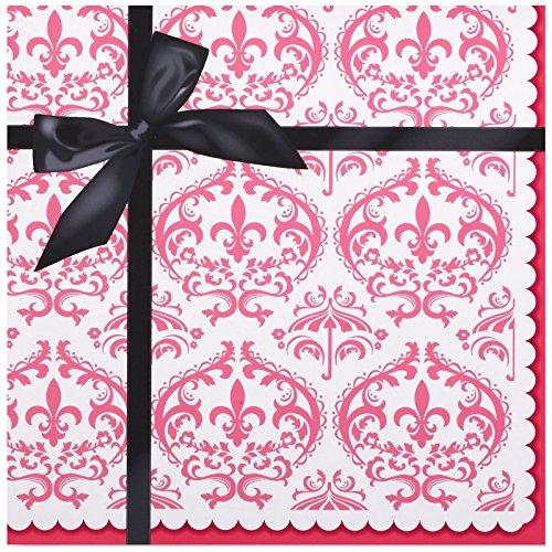 Paris Eiffel Tower Damask Party Supplies - Lunch Napkins (20) by BirthdayExpress (Supplies Party Paris Birthday)