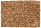 Plain Natural Coir Doormat
