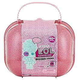 L.O.L. Surprise – Bigger Surprise Briefcase con Dolls da collezione e oltre 60 sorprese (Giochi Preziosi LLU46000)