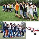 Bandas de Carreras de Cuatro Patas y Cuatro Patas Juego al Aire Libre para niños Adultos Juegos de cumpleaños para Equipo