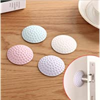 Kolorfish 3M Self Adhesive Rubber Stop Knob Lock Crash Mat Pad Wall Protector Guard Door Stopper for Living Room and…