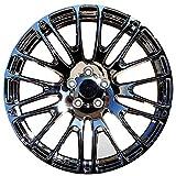 Yx-outdoor Cerchio in Lega da 18-20 Pollici, Offset 20-50 Tornio galvanico per Macchine per Land Rover Range Rover Audi Q7 Porsche Cayenne Cadillac (1PC),19x8.5J