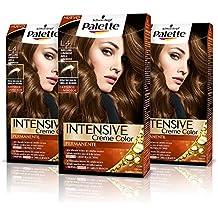 Palette Intense Cream Coloration Intensive Coloración del Cabello L4  Avellana Luminoso - Pack ... 6b6cce676f14