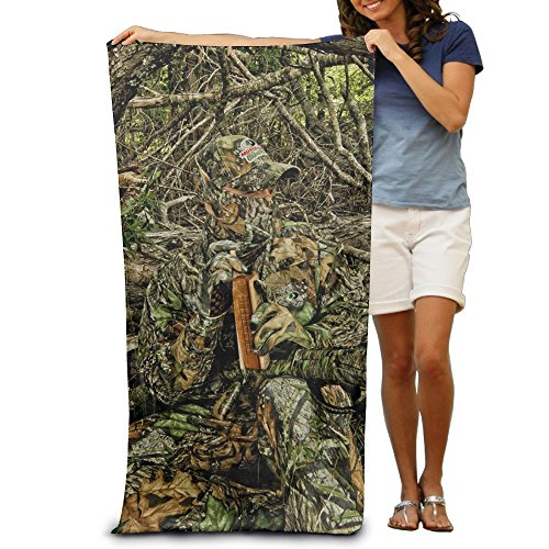 Monicago Frottiertücher Strandtücher, Quick Dry Towel Microfibre Towel, Hunting Camo Forest Hide Party Adults Cotton Beach Towel 31
