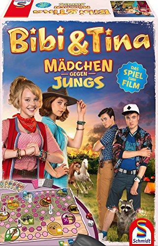 Schmidt Spiele 40574 - Bibi und Tina, Mädchen gegen Jungs, Das Spiel zum Film (Kostüme B Movie)