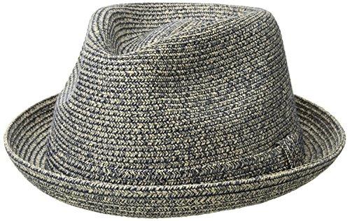 Country Gentleman Men's Joey Snap Brim Braided Fedora Hat Fedora Snap