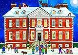 Alison Gardiner: Adventskalender Nostalgisch Wandkalender: Im Weihnachtenhaus
