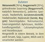 Bielmeier – Küchenmeister Brotbackmischung Bauernbrot 15er Pack, 15er Pack (15 x 500 g) - 4