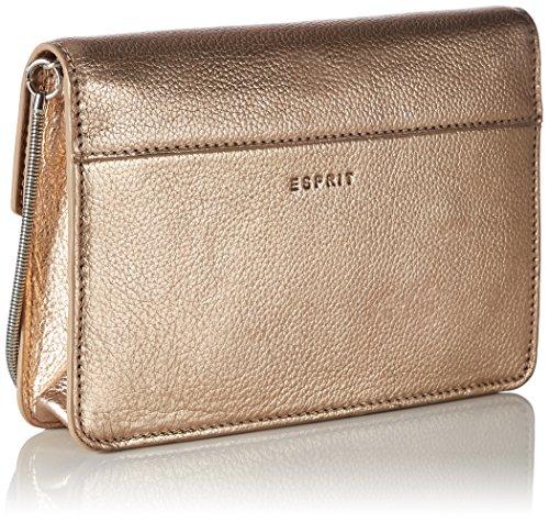 ESPRIT Damen 087ea1o067 Schultertasche, 4x13x20 cm Orange (Copper)