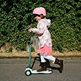 Micro Scooters Maxi 3 Wheel Lightweight With Adjustable Handlebar For Age 6-12 - Mint Special Edition