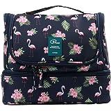 Beauty Case da Viaggio Borsa da Toilette Tuscall Borsa da Viaggio Impemeabile Ripiegabile Cosmetico Bag per Donna & Uomo e ba
