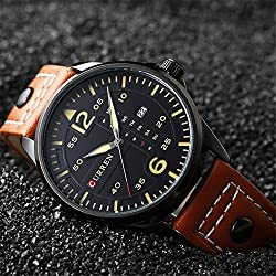 Hot Sale CURREN Luxury Fashion Men's Wrist Watch New Product for 2017 Business Casual Watch 8224G