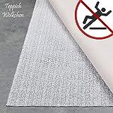 Teppich Wölkchen Teppich-Unterlage Anti-Rutsch-Matte II 17 Größen II rutschfest in Schublade Auto Kofferraum und Zuschneidbar I 30 x 50 cm