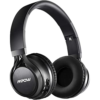 Mpow Cuffie Bluetooth 4.1 Stereo Thor, Cuffie Pieghevole Over-Ear, Auricolari Wireless Senza Fili, Cuffie Stereo Bluetooth con Microfono per iPhone/Huawei/iPad/LG/Samsung/Galaxy ed Altri Telefoni/PC
