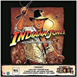 Indiana Jones The Complete Collection Big Sleeve Edition / Import / Region Free Blu Rays / All Four Films + Bonus Disc