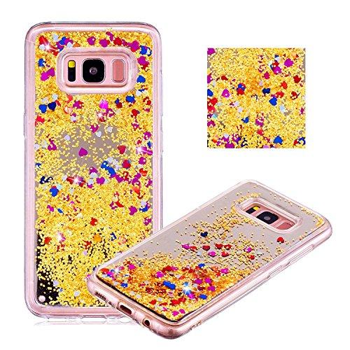 Flüssig Case für Plus, für Samsung Galaxy S8 Plus (Nicht für S8) Hülle, Handyhülle Flüssig...
