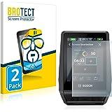 BROTECT 2x Schermbeschermer compatibel met Bosch Nyon 2020 Screen protector transparant