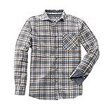 HempAge Herren Hemd Timber aus Hanf/Bio-Baumwolle (S, Oak)