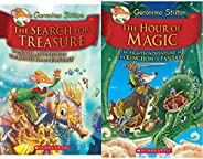 Kingdom of Fantasy #6: The Search for Treasure (Geronimo Stilton - Kingdom of Fantasy) + Geronimo Stilton and