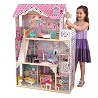 KidKraft 65934 Annabelle Wooden Dolls House with Furniture and Accessories
