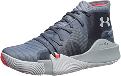 Under Armour Spawn Mid, Scarpe da Basket Uomo
