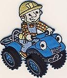 Bob der Baumeister - Fahrzeug - Aufnäher Aufbügler Applikation Patch