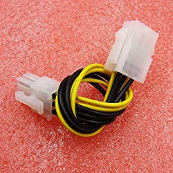 Tradico 6-Pin PCI-E Male to PCI-E Express Female Power Extension Cable Adapter Cord