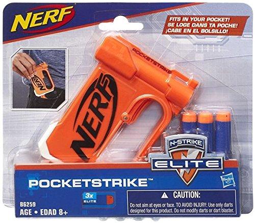 Hasbro Nerf B6259EU4 - N-Strike Elite PocketStrike, Spielzeugblaster (Nerf Elite Jolt)
