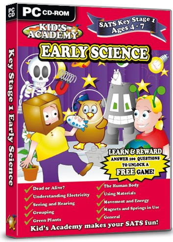 Kid's Academy - Key Stage 1 Early Science - 4-7 Years (PC CD) Test