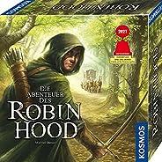 KOSMOS 680565 Die Abenteuer des Robin Hood, Kooperatives Abenteuer-Spiel für die ganze Familie, mit offener Sp