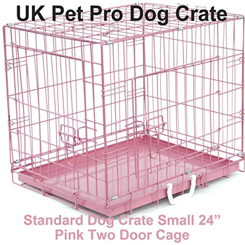 Dog-Crate-Pink-24-Small-60cm