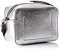 Calvin Klein - Edged Camera Bag Met, Bolsos bandolera Mujer, Gris (Silver), 7x12x18 cm (B x H T) de Calvin Klein