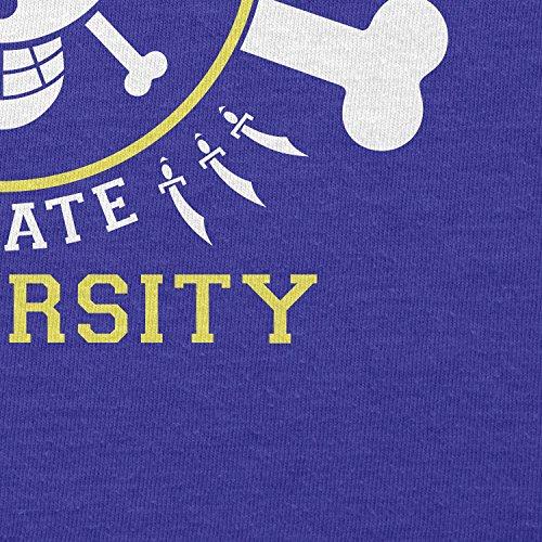 TEXLAB - Grand Line Pirates University - Damen T-Shirt Marine