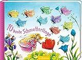 10 bunte Schmetterlinge (10er Stanze Minis)
