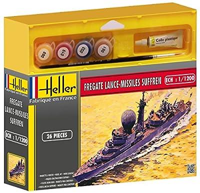Heller 49033 Modellbausatz Fregate Lance-Missiles Suffren von Heller