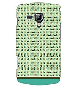 PrintDhaba Owl Pattern D-1647 Back Case Cover for SAMSUNG GALAXY S DUOS 2 S7582 (Multi-Coloured)