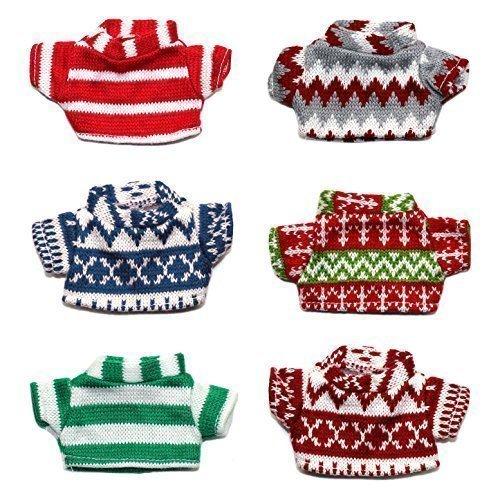 Naughty Christmas Elf Zubehör - Everything Sie brauchen This Christmas - Elfe Puppe Pullover - 1 Versand bei zufälliger (Elf Kostüm Uk)