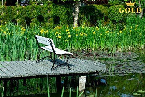 GOLD GARDEN G02021 Gartenbank Toskana aus weissem Fichtenholz 180 cm für 4 Personen - 6