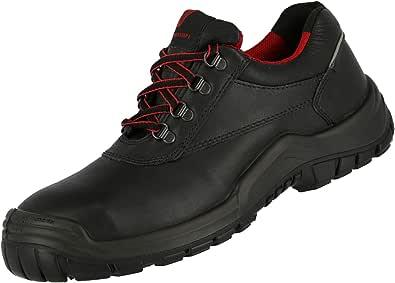 NITRAS Chaussures de Sécurité Hommes Femmes - S3 Power Step I HRO SRC - Chaussure pour Travail - Embout Acier - Cuir